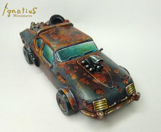 Crazy Mel´s car 6